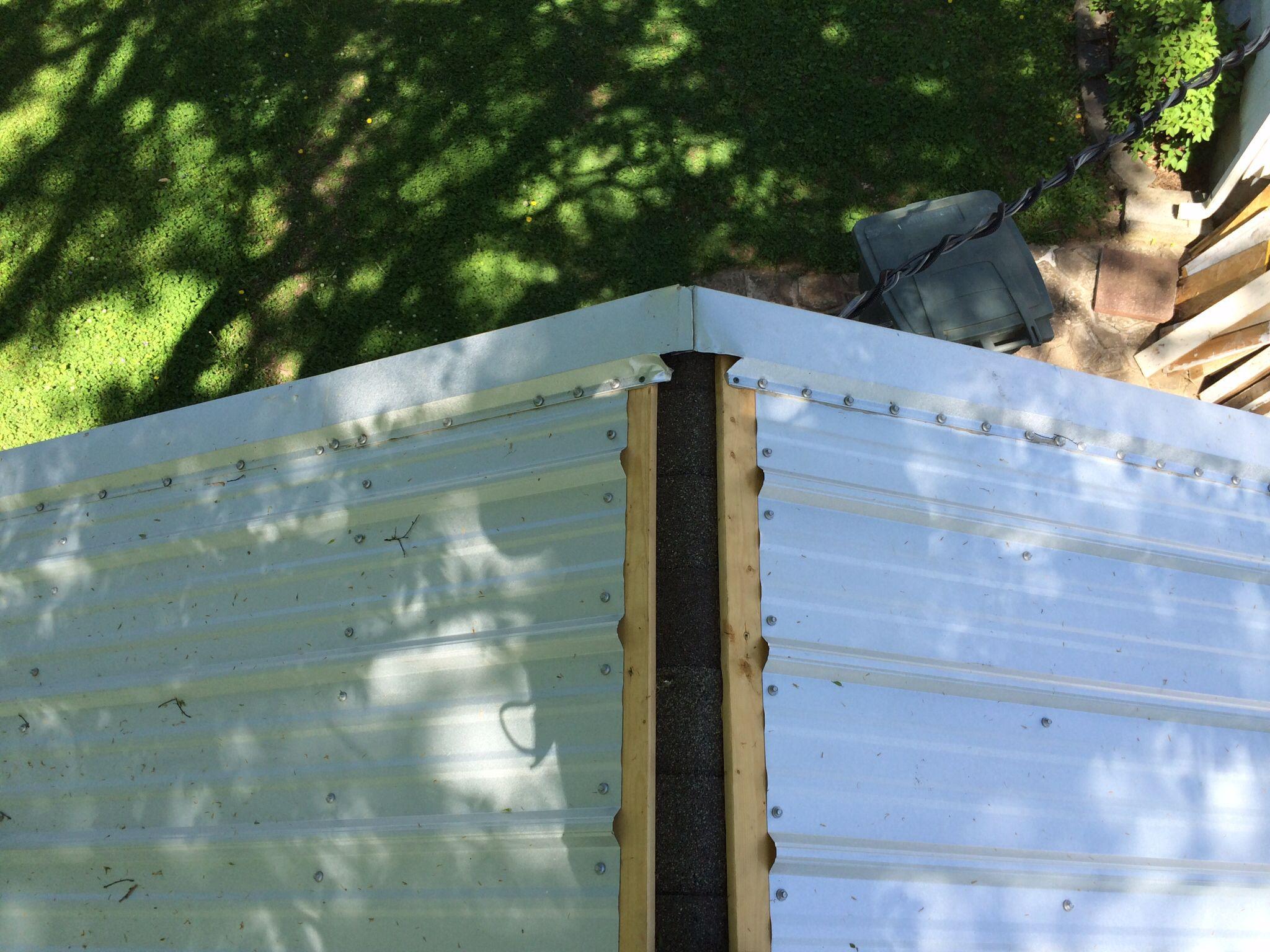 Needs Ridge Cap Corrugated Metal Roof Metal Roof Corrugated Roofing