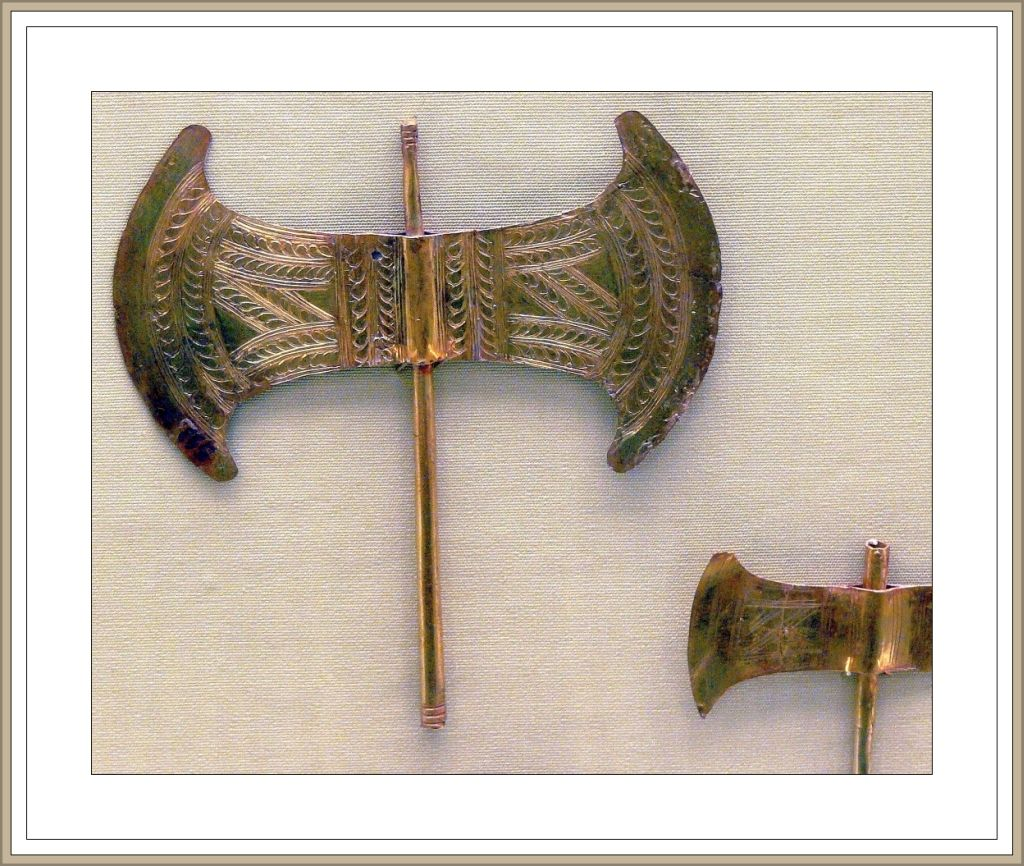 Another View Of The Labrys Or Double Axe Key Symbol Of The Palace