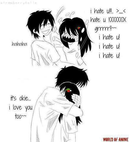 Anime couple cute tsundere anime couples funny - Cute anime couple pictures ...