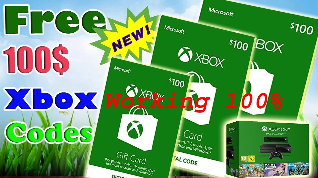 free xbox gift card codes no survey no download