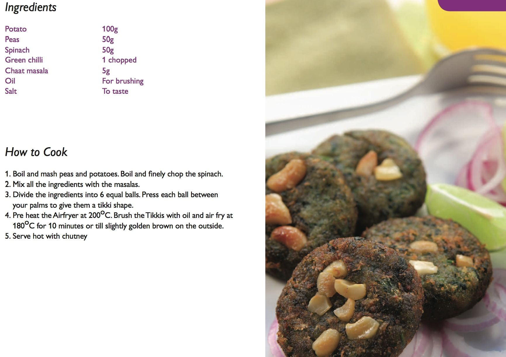 Hara kabab from philips air fry india booklet httpphilips air fryer recipes forumfinder Gallery
