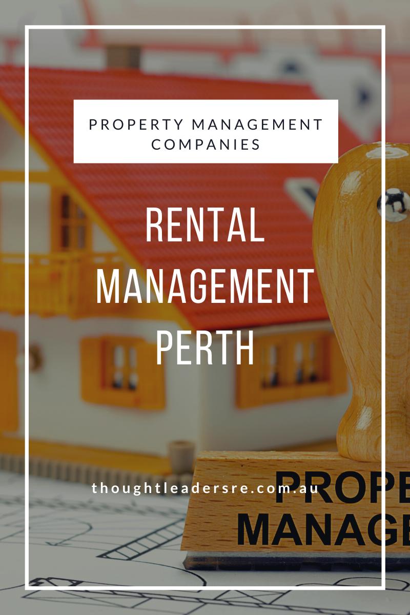 Property Management Perth Property Management Management Company Management