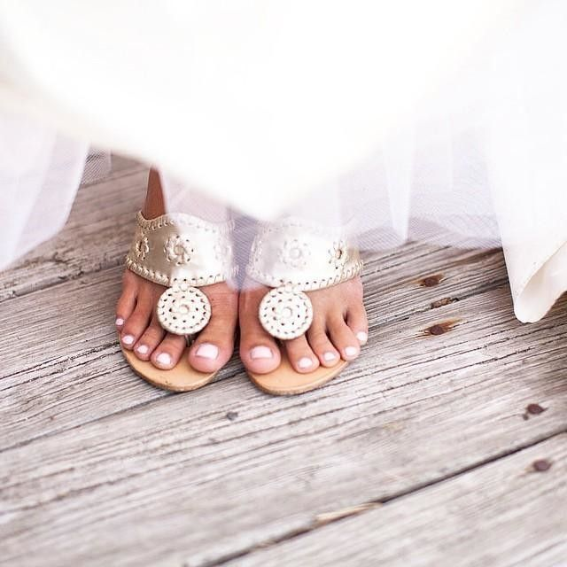 "739e5cac8f5 ""I wore Jack Rogers wedges for my wedding"