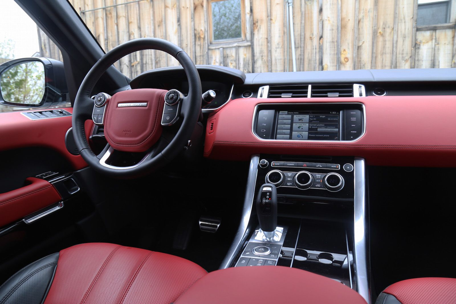 White Range Rover With Red Interior New Blog Wallpapers Vroom