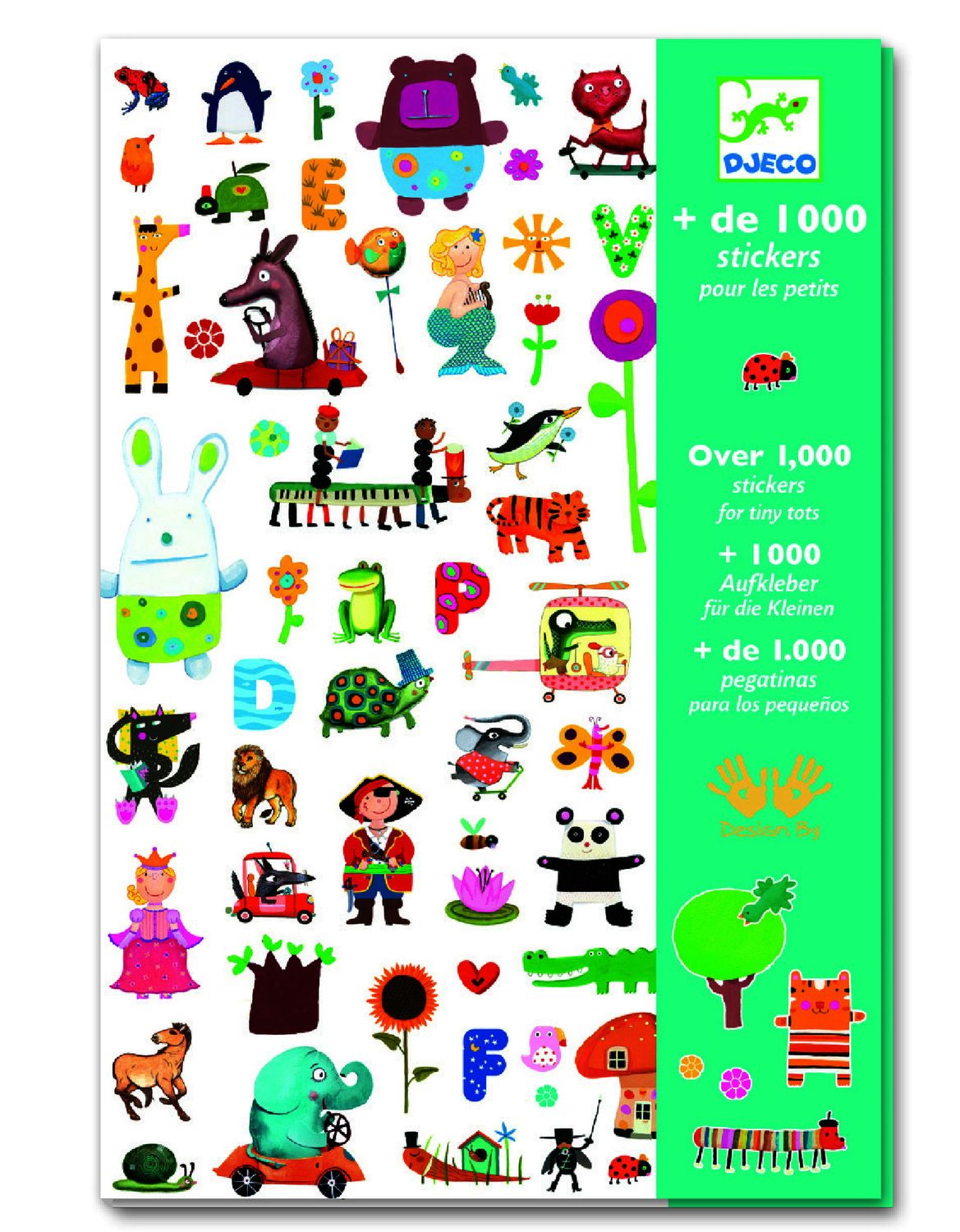 Djeco Stickers For Little Ones Create With Stickers