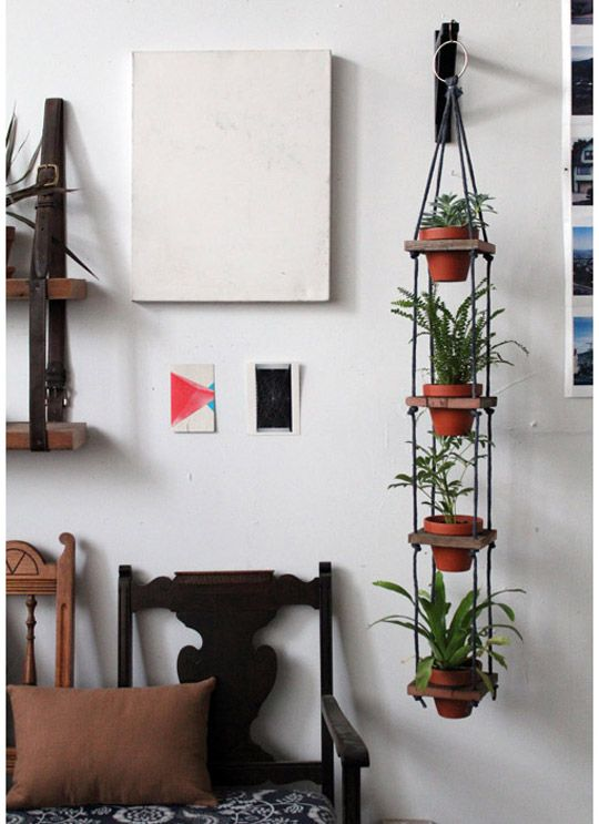 Diy Multi Pot Plant Hanger Diy Hanging Planter Diy Hanging Hanging Pots