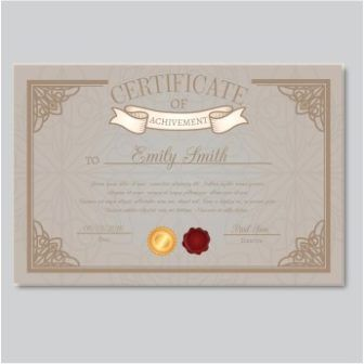 free vector achievement certificate templates httpwwwcgvectorcomfree