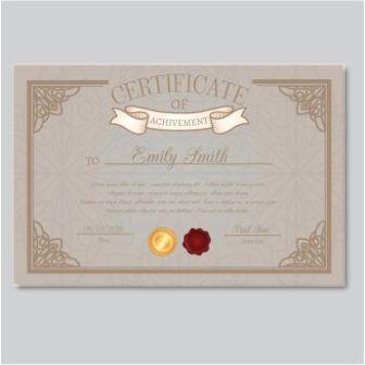 free vector achievement certificate templates httpwwwcgvectorcomfree