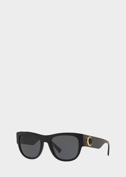ca6e13a98cba3 Versace Black Medusa Ares Sunglasses for Men
