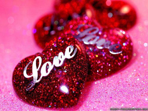 Glitter Flower Wallpaper Love Wallpaper Download Heart Wallpaper Cute Love Wallpapers