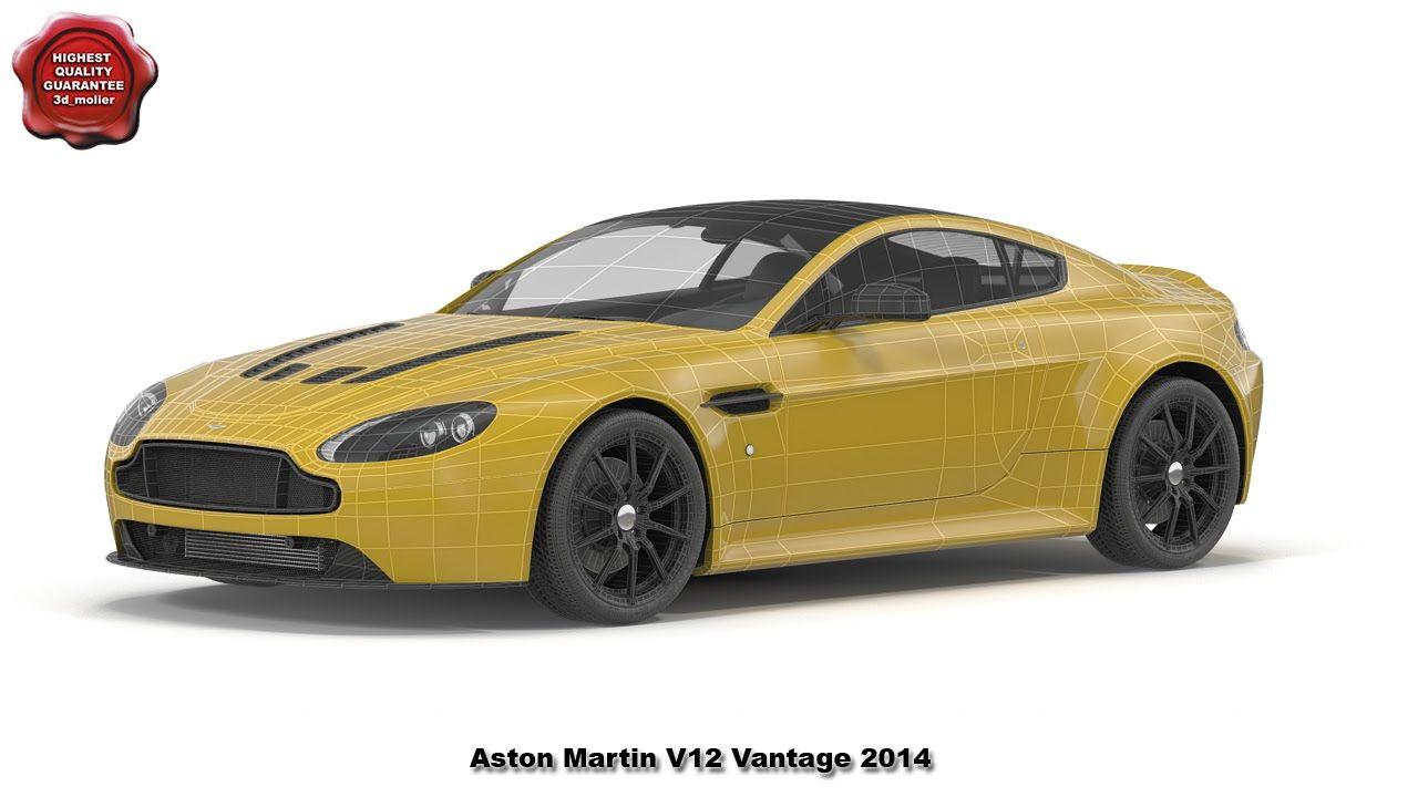 3d model of Aston Martin V12 Vantage 2014 by 3d_molier International