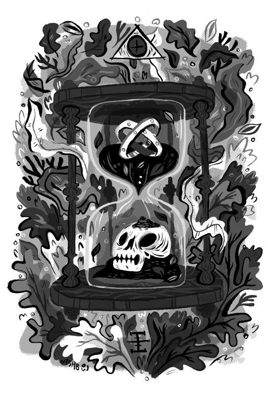 Undine - Pam Wishbow Illustration