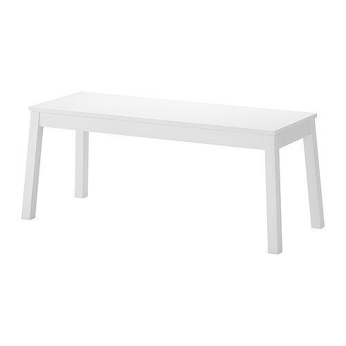Meubles et accessoires | Salle à manger | Banc blanc, Ikea et ...