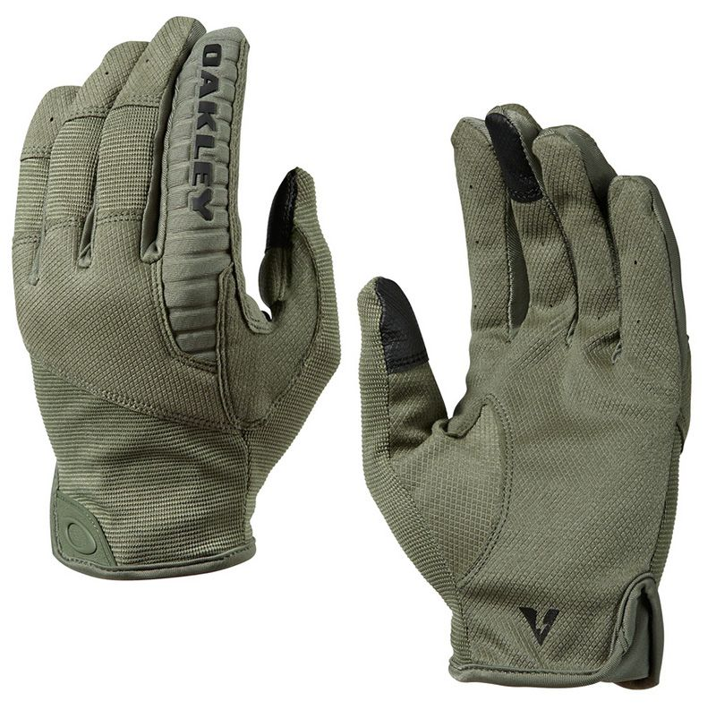 oakley hard knuckle tactical gloves g6fa  Oakley SI Worn Olive Factory Lite Tactical Glove