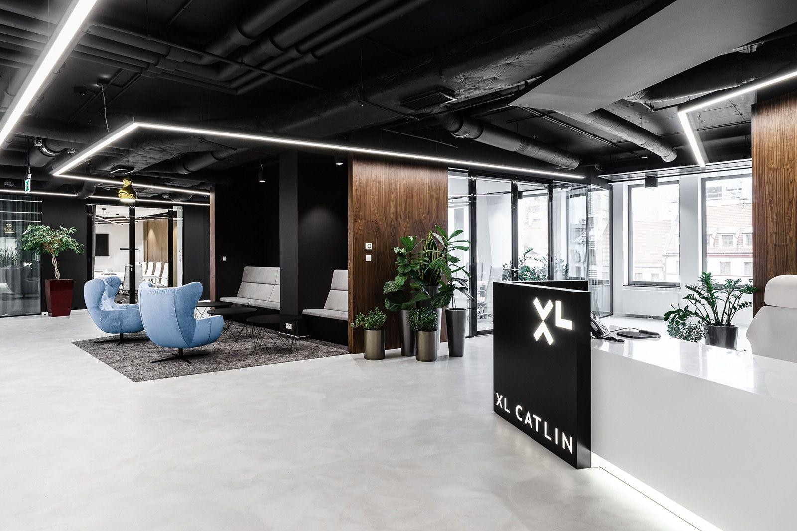 Inside XL Catlinu0027s Modern Wroclaw Office   Officelovinu0027 Corporate Office  Design, Corporate Interiors,
