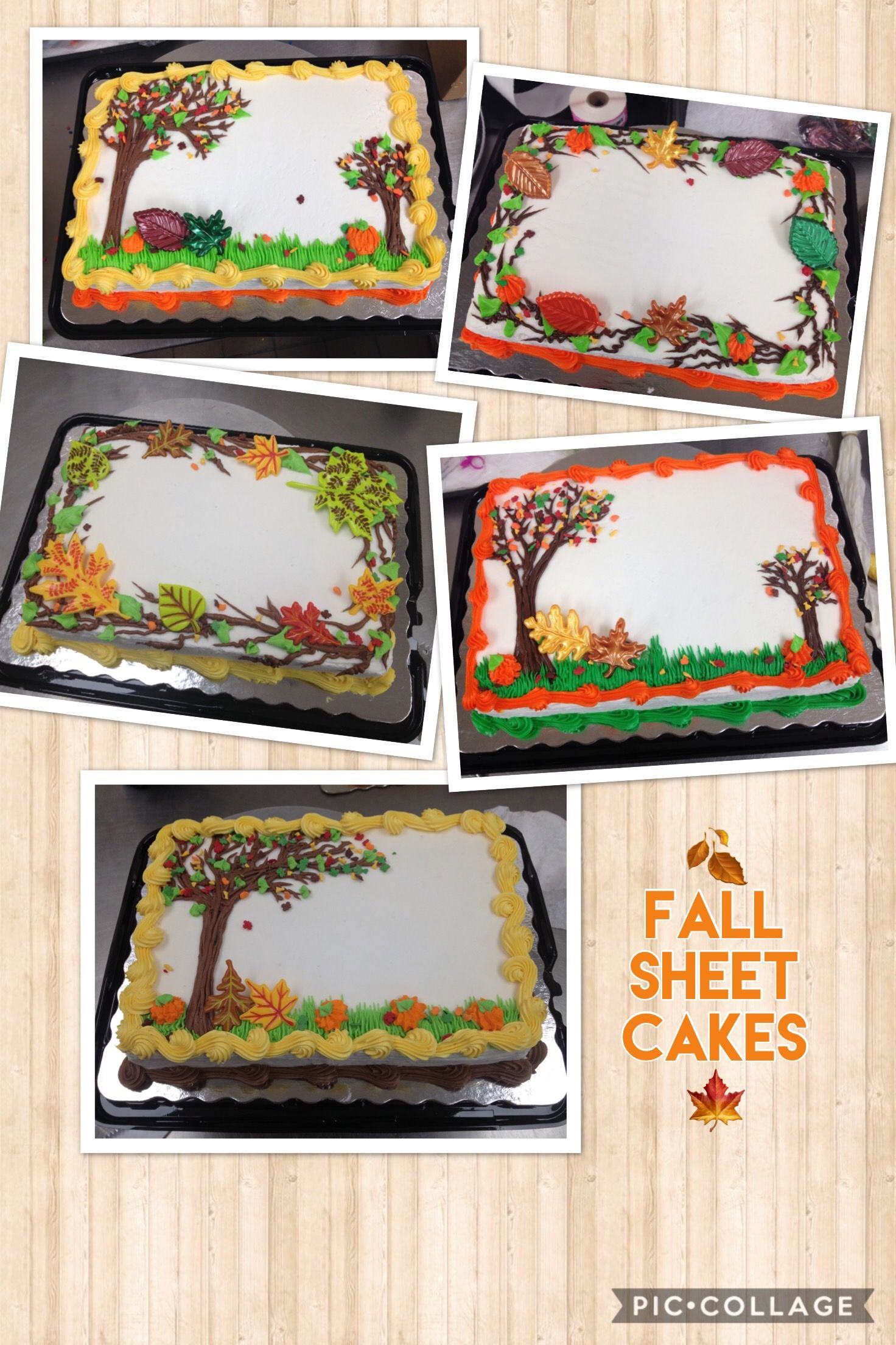 Fall Cakes 2017 Thanksgiving Cakes Decorating Fall Theme Cakes Fall Birthday Cakes