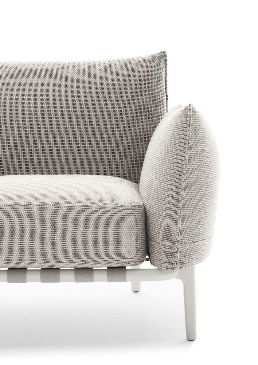 Fabric Armchair With Removable Cover Brea Armchair By