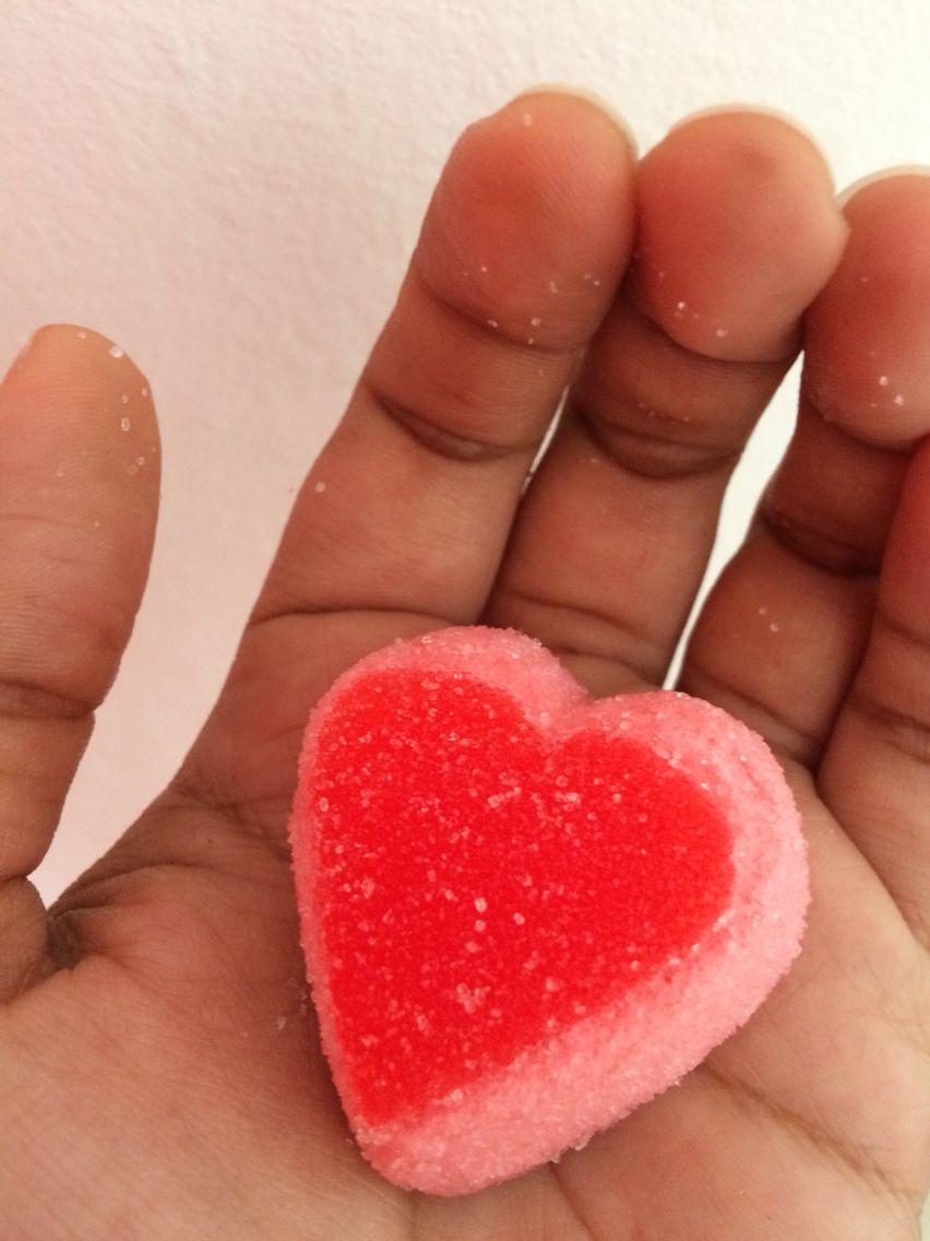 Tu dulce corazón en mis manos!