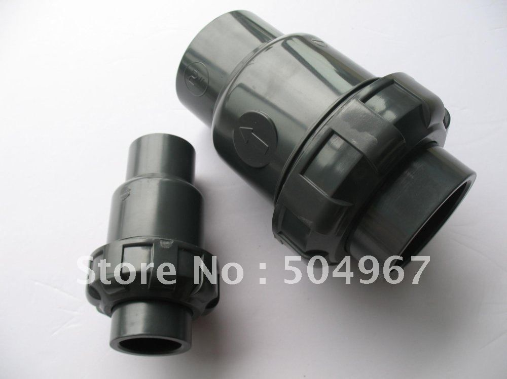 Hot Sale 1 2 Pvc Ball Check Valves With Steady Quality And Good Price Valve Pvc Sale