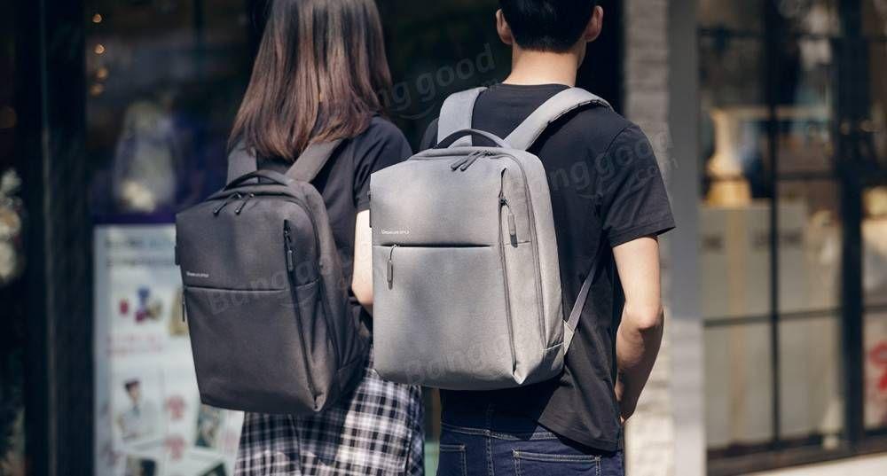 Original Xiaomi Waterproof Business Laptop Backpack Large Capacity Urban School Bag for Laptop Notebook Macbook Pro Air Tablet PC Sale - Banggood.com