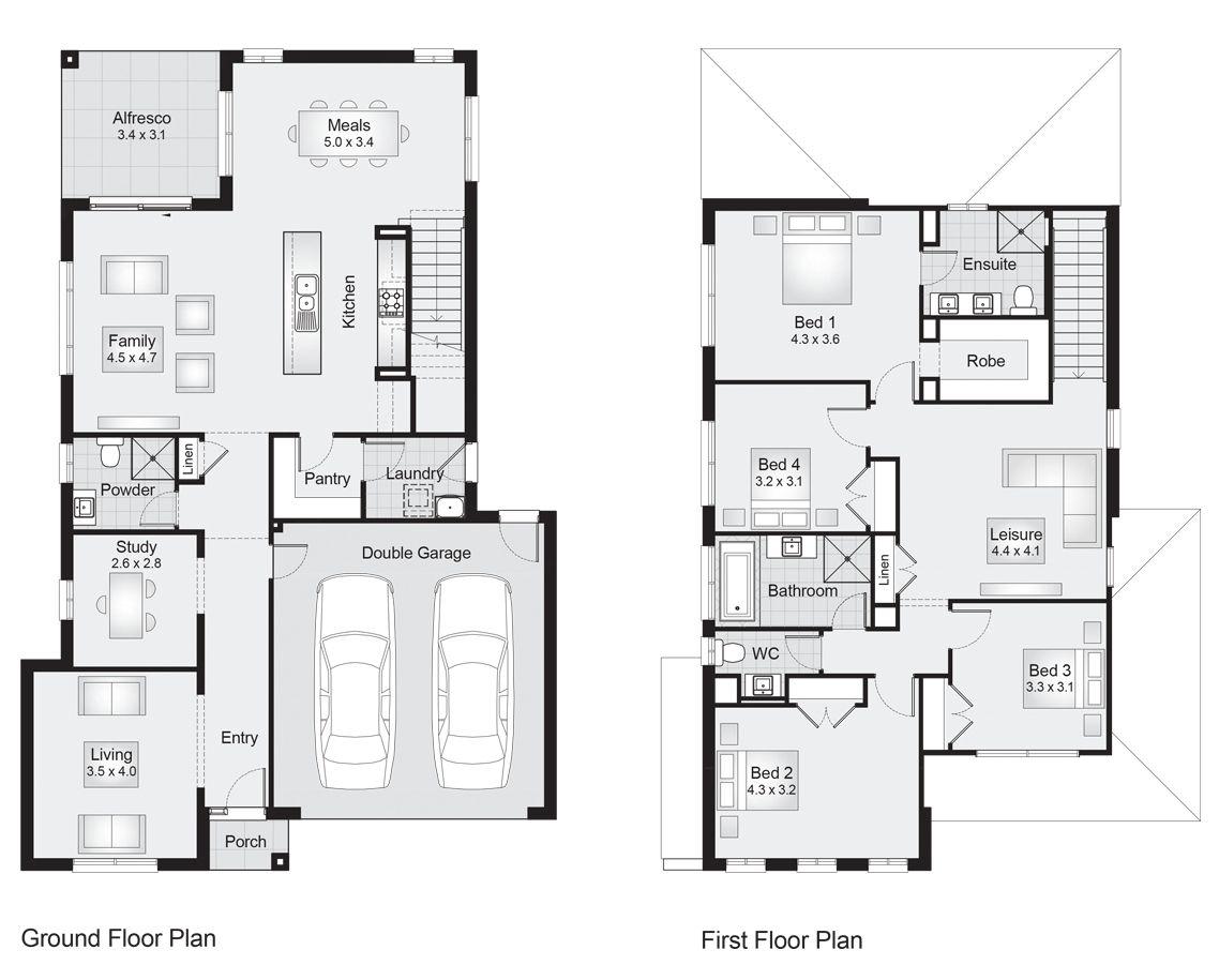 Parkhill 29    Floor Plan - 273.90sqm, 11.30m width, 17.30m depth ...