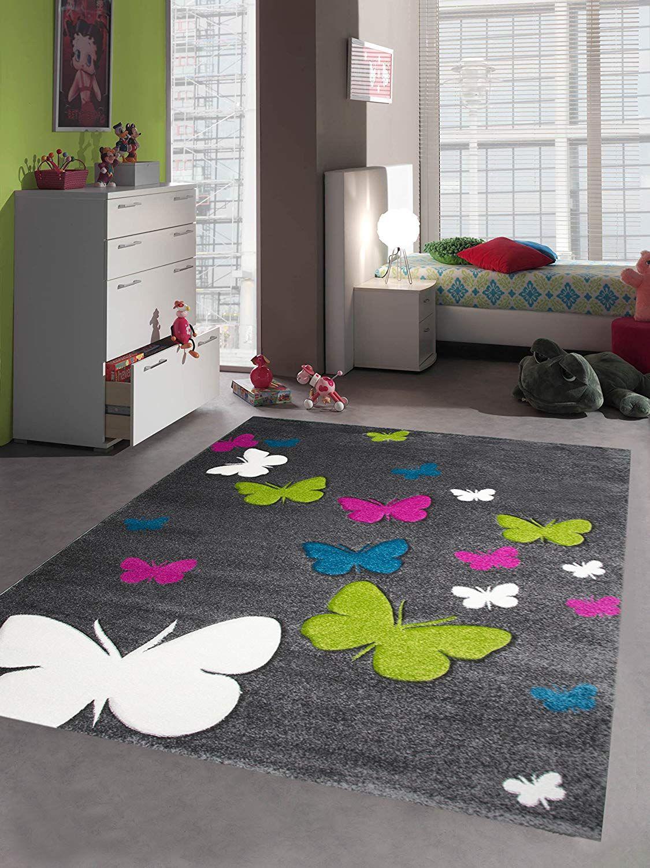 Schmetterling Kinderteppich Spielteppich Kinderzimmer Teppich Schmetterling Design Mit Konturenschnitt Toller K In 2020 Teppich Kinderzimmer Spielteppich Diy Teppiche