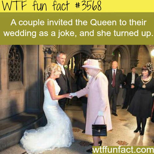 The Queen Crashed A Wedding Fun Facts
