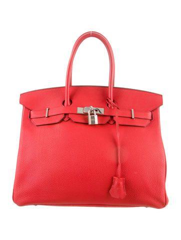 Hermès Clemence Birkin bag