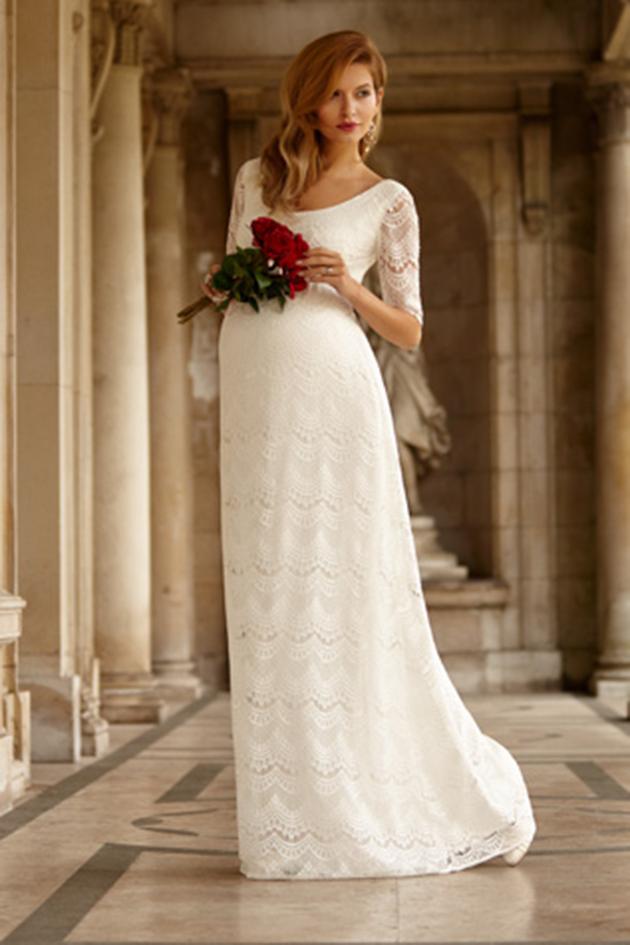 Wie wählt man Mutterschaft Brautkleider   Brautfrisuren – Mode ...