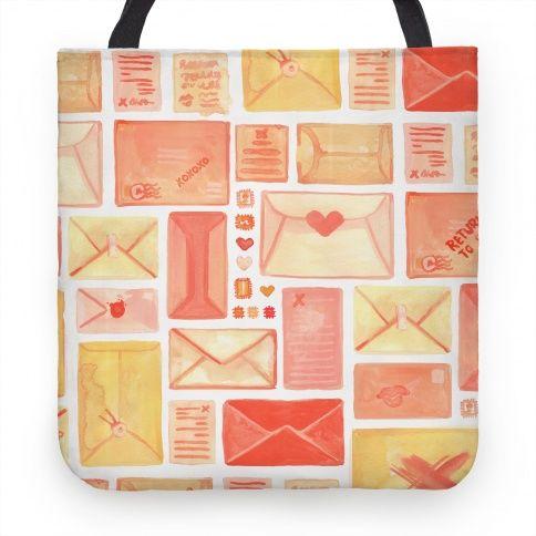 Love Letter Pattern #love #rustic #mail #envelope #letters