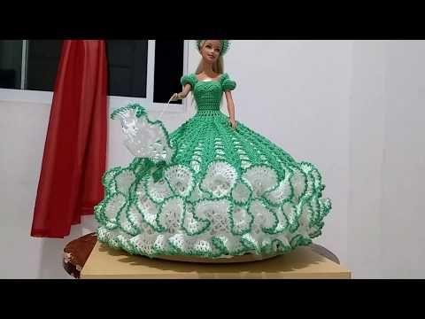 b24b4e23c Aprendiendo a tejer paso a paso vestidos de munecas en crochet - YouTube