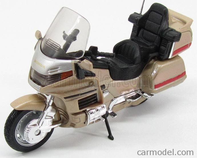 Edicola Mit2rue005 Scale 1 18 Honda Goldwing 1500 1988 Gold Goldwing Honda Miniatures