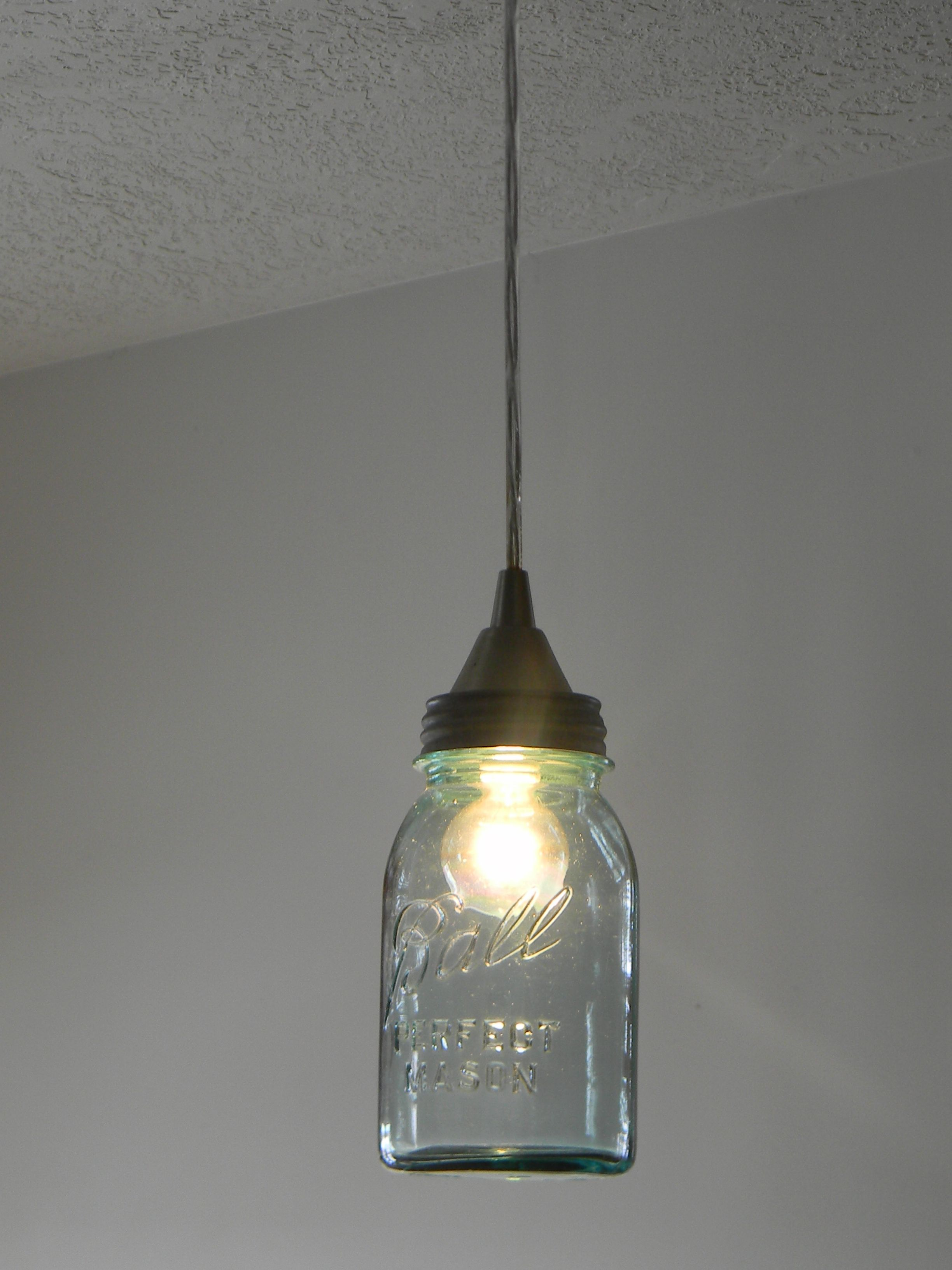 mason jar pendant lighting. Step By Ball Jar Pendant Light Tutorial. This Is For Those Of You Out There Who Are Not Electricians! Mason Lighting