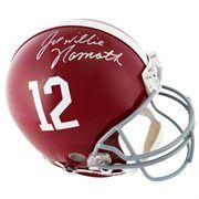 Joe Namath Alabama Crimson Tide Autographed Riddell Pro-Line Authentic Helmet