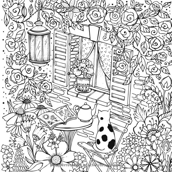 Mein Sommerspaziergang Ausmalen Und Durchatmen Amazon De Rita Berman Bucher Malbuch Vorlagen Ausmalen Malvorlagen Tiere