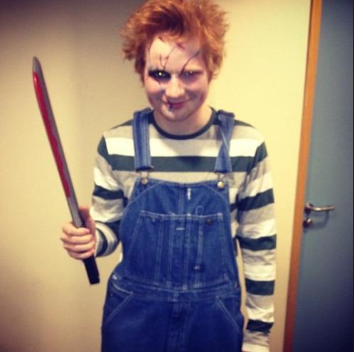 costume halloween Ed sheeran