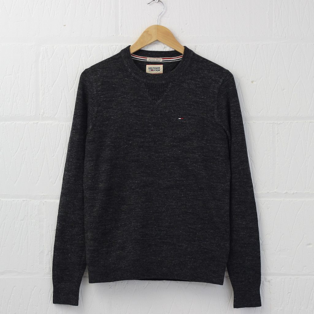 Hilfiger Denim Ethan Sweater (Tommy Black) #hilfiger #denim #sweater #menswear #newentry