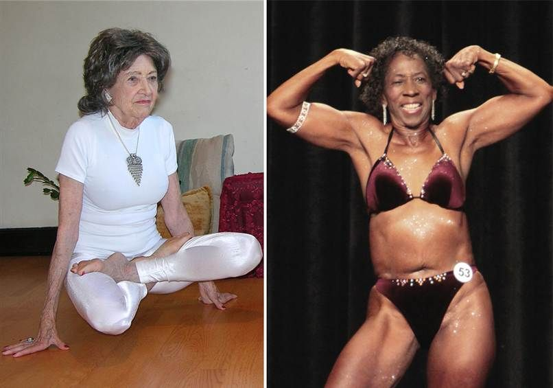 A 93-year-old yoga teacher and a 65-year-old bodybuilding winner... what's the secret to their success???