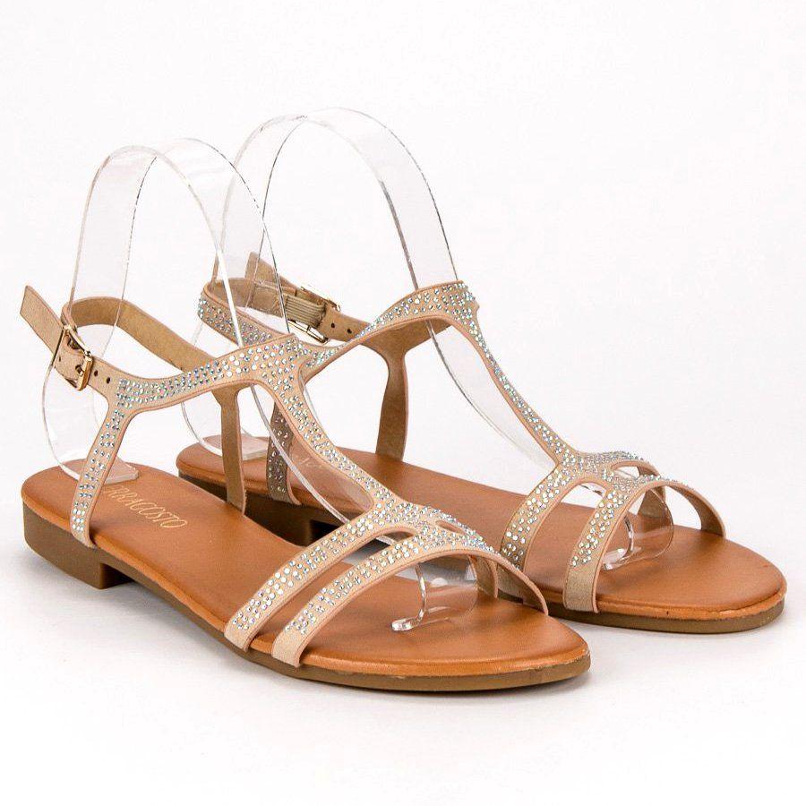 Cm Paris Plaskie Zamszowe Sandaly Brazowe Shoes Sandals Fashion
