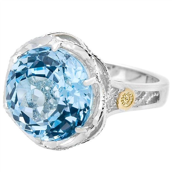 And you have to have the ring that matches the earrings, right?