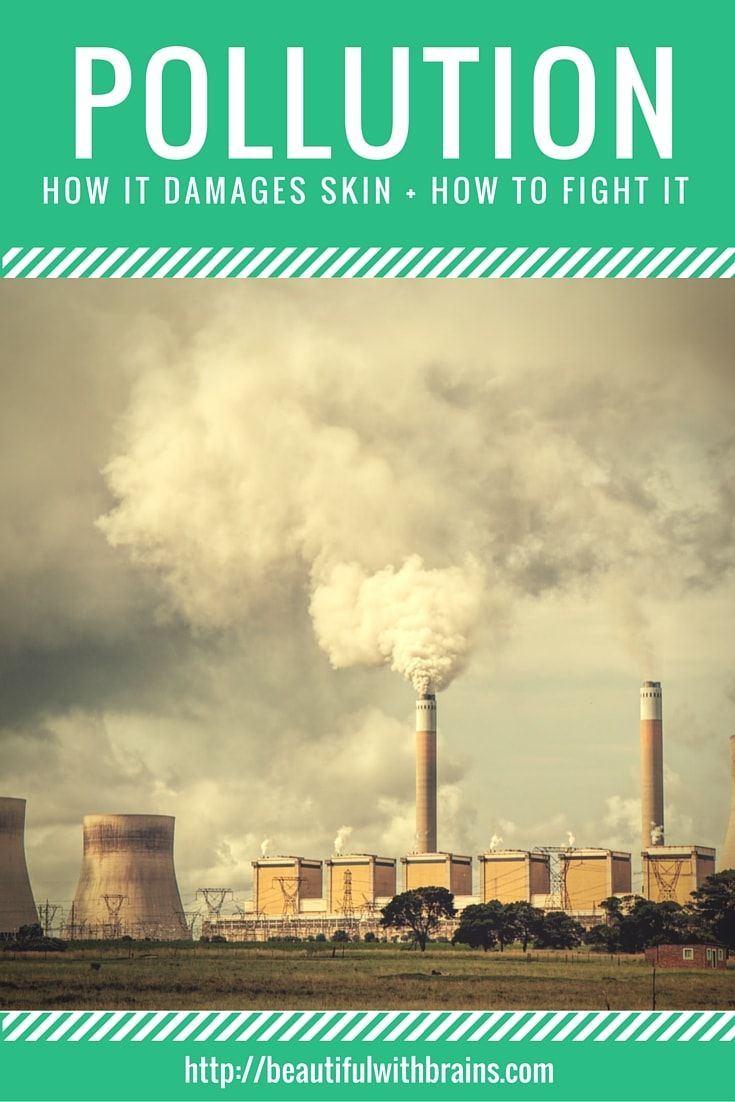 Did you know that pollution is one of the main causes of premature aging? That's why, if you live in a city, your skin will develop wrinkles earlier. But, don't fret. There are a couple of things you can do about it. Click through to find out how to fight pollution and the damage it inflicts to the skin.