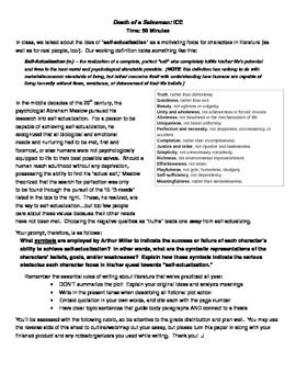 How To Write A Essay Proposal  Free Essay Death Of A Salesman Characters And Symbols Compare Them  To The Steps Towards Achieving Selfactualization According To Maslow Great Gatsby Essay Thesis also Computer Science Essay Topics Death Of A Salesman Essay  Crosscurricular Literacy   Short  International Business Essays