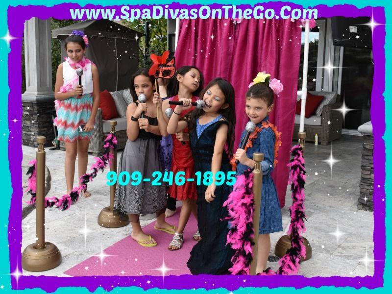 Mobili glamour ~ Diva spa glamour spaparty fashion princess