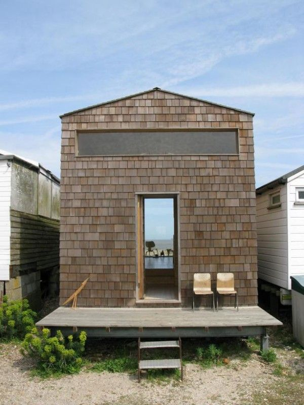 tiny beach house. Tiny Houses | Nina Tolstrup Designed This Modern Beach House For Her Family .