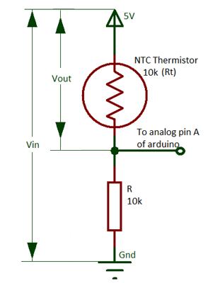 Excellent Voltage Divider Circuit By Thermistor And Resistor Electronic Wiring Cloud Inamadienstapotheekhoekschewaardnl