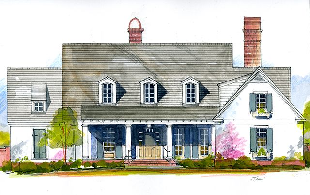 Canebrake Plan 1851 By Southern Living I Love This House Southern Living House Plans New House Plans Lake House Plans