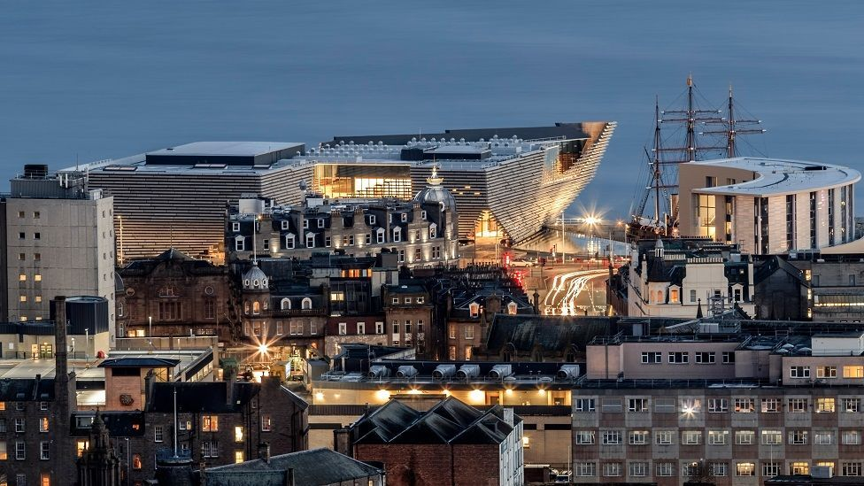 The V&A Dundee.