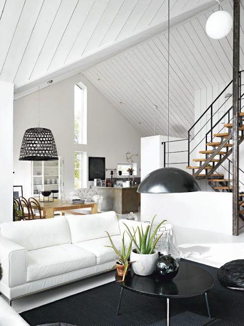 My Scandinavian Home Black And White Swedish Home Home Home Living Room Home And Living