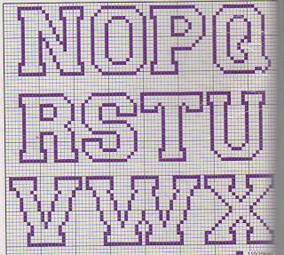 Karilla e Cross Stitch: Grafici