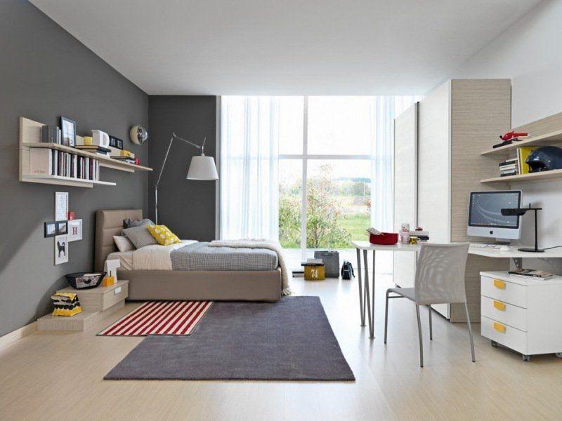 Chambre Grise Et Blanche Ado Photos - Matkin.info - matkin.info